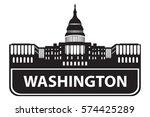 washington | Shutterstock .eps vector #574425289