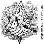 Star Of David   Hand Drawn...