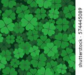 saint patrick's day seamless... | Shutterstock .eps vector #574445089