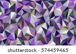 low poly colorful abstract... | Shutterstock .eps vector #574459465