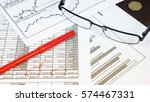 financial analysis   income... | Shutterstock . vector #574467331