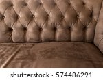 vintage luxurious brown leather ... | Shutterstock . vector #574486291