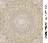 creative color mandala. square... | Shutterstock . vector #574494454