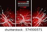 hi tech bacground technology... | Shutterstock .eps vector #574500571