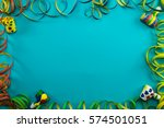colorful carnival background...   Shutterstock . vector #574501051