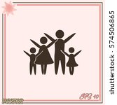 family vector icon | Shutterstock .eps vector #574506865