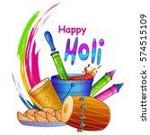 vector illustration of india... | Shutterstock .eps vector #574515109