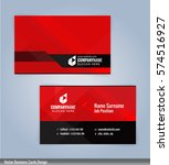 red and black modern business... | Shutterstock .eps vector #574516927