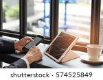 official professional business... | Shutterstock . vector #574525849