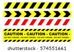 police security tapes | Shutterstock .eps vector #574551661