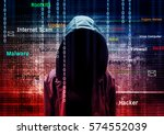 Computer Hacker Or Cyber Attac...