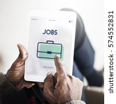 Stock photo job hiring vacancy team interview career recruiting 574552831