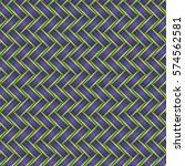 Wicker Seamless Pattern In...