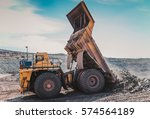 mining machinery | Shutterstock . vector #574564189