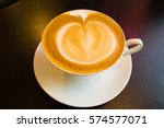 coffee cup cafe hot | Shutterstock . vector #574577071