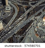 urban transportation   rush... | Shutterstock . vector #574580701