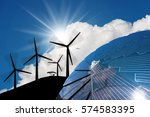 Detail Of A Solar Panel In The...