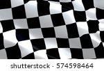 racing flag | Shutterstock . vector #574598464