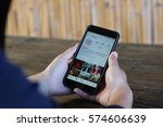 chiang mai  thailand   feb 8...   Shutterstock . vector #574606639