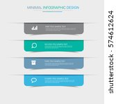business  infographic  template ... | Shutterstock .eps vector #574612624