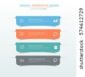 business  infographic  template ... | Shutterstock .eps vector #574612729