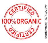 grunge red 100   organic...   Shutterstock .eps vector #574627399