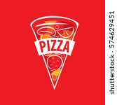 pizza vector logo | Shutterstock .eps vector #574629451