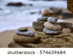 stone tower | Shutterstock . vector #574639684