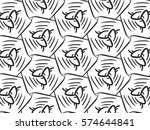 abstract honey comb background... | Shutterstock .eps vector #574644841