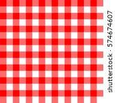 seamless checkered and tartan...   Shutterstock .eps vector #574674607
