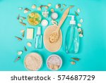 natural domestic products for... | Shutterstock . vector #574687729