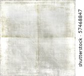 vintage creased white faded... | Shutterstock . vector #57468847