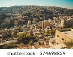 photo of the amman city  jordan ... | Shutterstock . vector #574698829