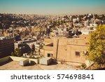 photo of the amman cityscape ... | Shutterstock . vector #574698841