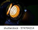 fresnel lens  barn doors ... | Shutterstock . vector #574704214