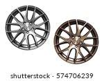 isolated car alloys | Shutterstock . vector #574706239
