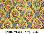 buddhism color painting on the... | Shutterstock . vector #57470833