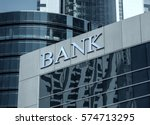 bank building | Shutterstock . vector #574713295