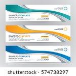 abstract web banner design... | Shutterstock .eps vector #574738297