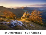autumn mountains | Shutterstock . vector #574738861
