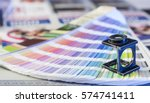 color management in printing... | Shutterstock . vector #574741411