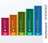 modern infographics template. | Shutterstock .eps vector #574747417
