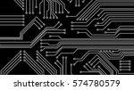 Circuit Board Vector...