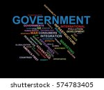 government   word cloud... | Shutterstock . vector #574783405