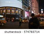 new york  usa   feb 08  2017 ... | Shutterstock . vector #574783714