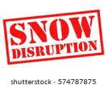 snow disruption red rubber... | Shutterstock . vector #574787875