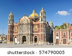 the basilica of our lady of... | Shutterstock . vector #574790005