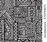 unique geometric vector... | Shutterstock .eps vector #574793071