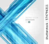 abstract technology bright... | Shutterstock .eps vector #574796311