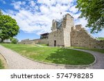 Ruins Of Castle Near Cracow ...